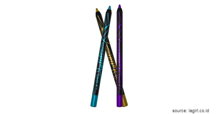 L.A. Girl Glide Gel Eyeliner Pencil - Merk Eyeliner Waterproof Terbaik Harga Terjangkau