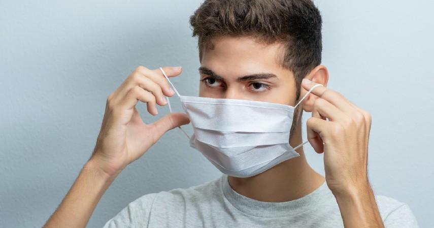 Lantas Perlukah Pakai Masker di Rumah