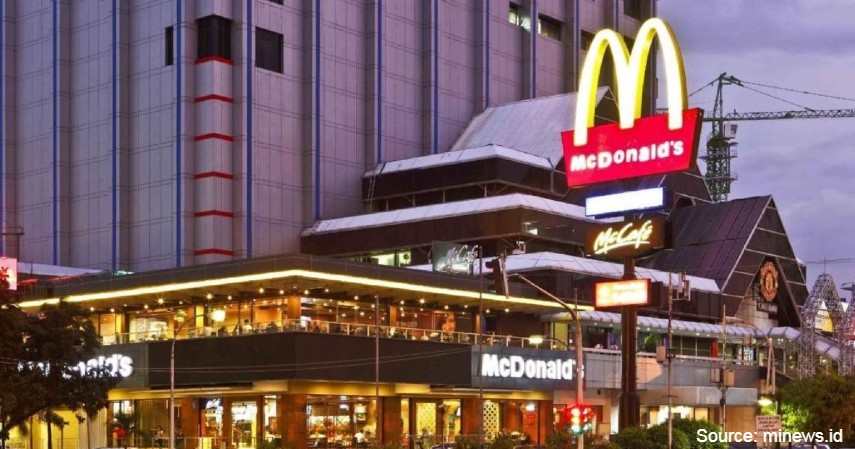 McDonald's Sarinah - 7 Restoran Indonesia yang Tutup Di Tahun 2020 Akibat Pandemi Corona