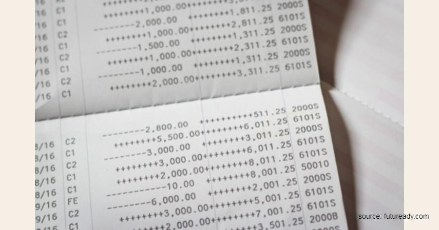 Menggunakan rekening koran - 5 Cara Membuat Kartu Kredit Tanpa Slip Gaji