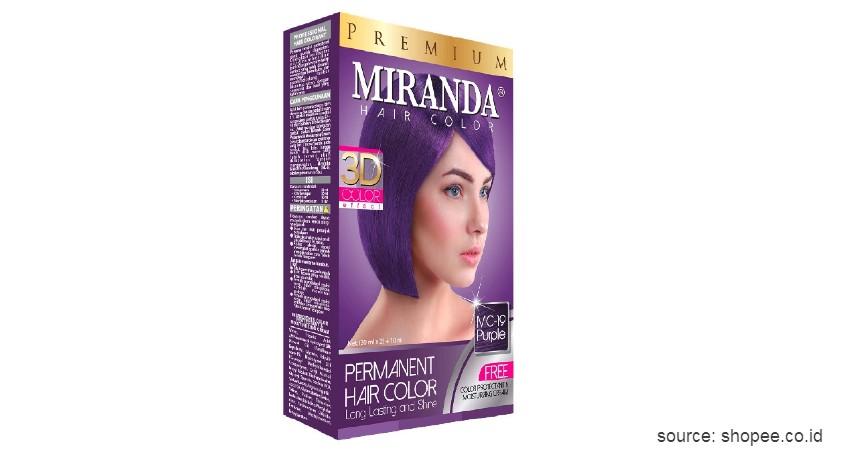 Miranda Hair Color - 9 Merk Cat Rambut yang Bagus dengan Harga Terjangkau