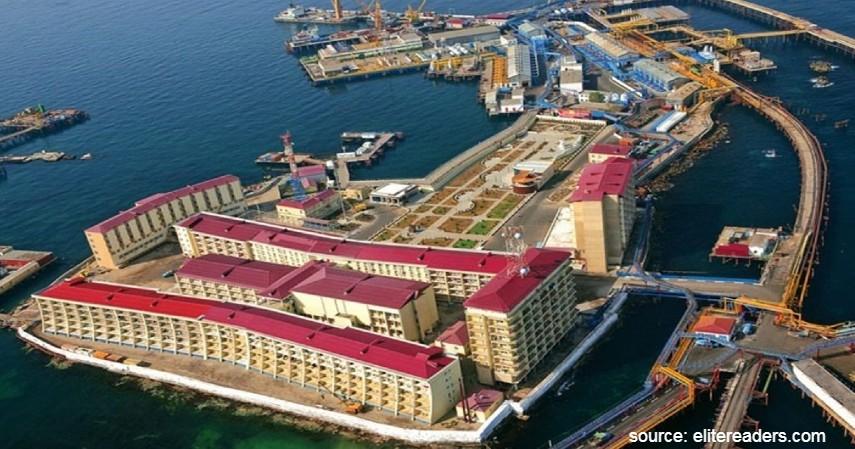 Neft Daslari Azerbaijan - 7 Kota Terunik di Dunia dengan Ciri Khas Keren