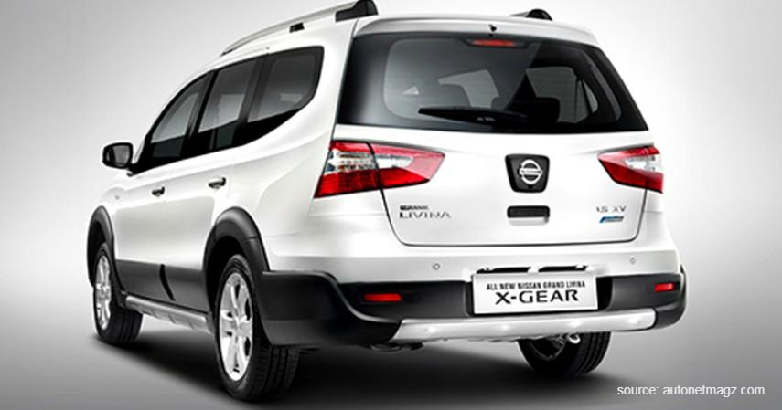 Nissan Grand Livina X-Gear AT - 7 Mobil Bekas Tahun Muda Di Bawah Rp100 Juta Berkualitas Tinggi