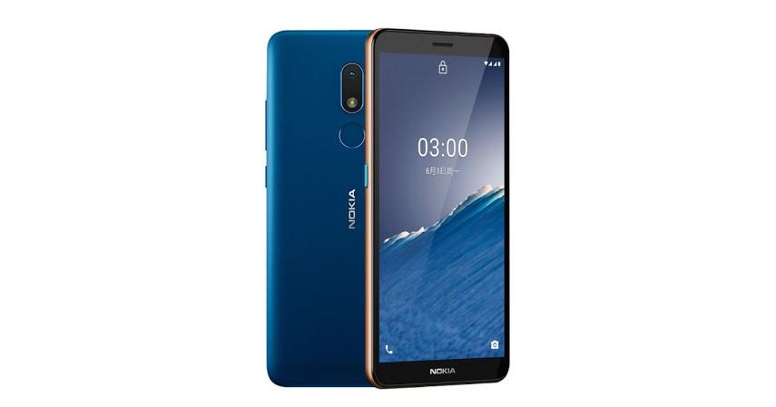 Nokia C3 - 8 Handphone yang Cocok untuk Ibu Rumah Tangga