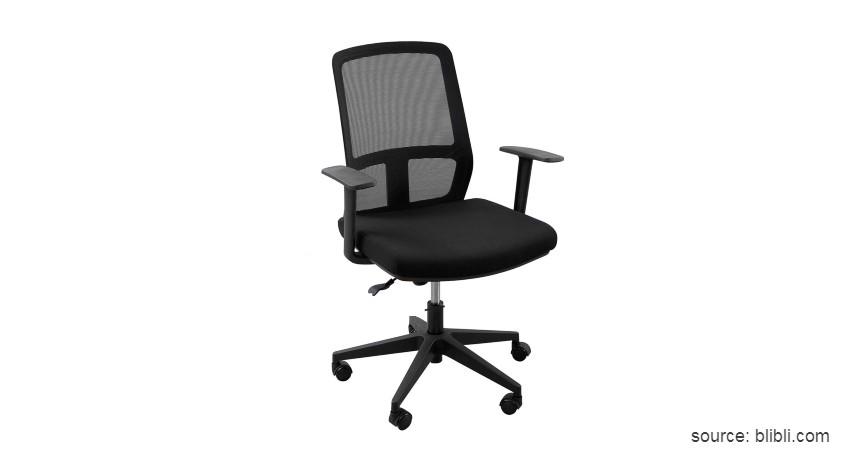 Officescale Alvaro Low Back Kursi Kantor - 10 Merk Kursi Kantor Terbaik