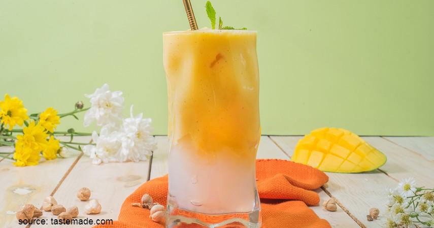 Olahan Mangga yang Enak dan Sederhana - Mangga Yakult Nata de Coco