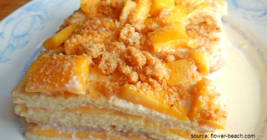 Olahan Mangga yang Enak dan Sederhana - Mango Float Dessert