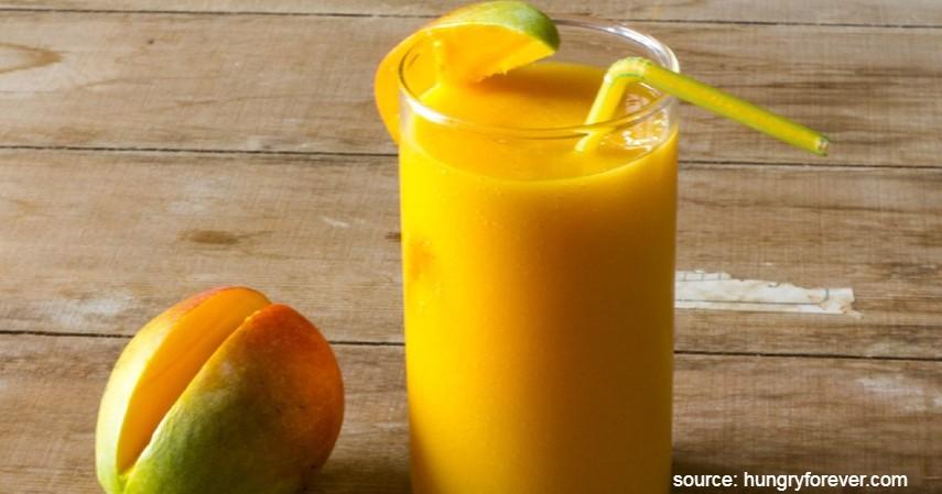 Olahan Mangga yang Enak dan Sederhana - Mango Milkshake