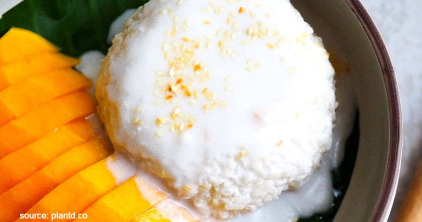 Olahan Mangga yang Enak dan Sederhana - Mango Sticky Rice