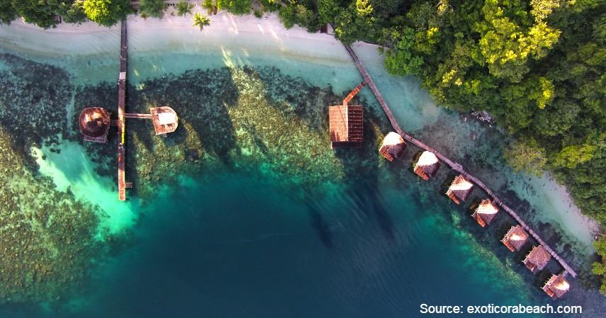 Ora Beach Resort - 10 Private Island Resort Terbaik di Indonesia Pemandangan Super Indah