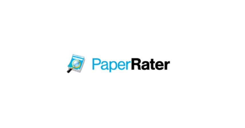 Paper Rater - 12 Aplikasi Untuk Cek Tata Bahasa atau Grammar Inggris Gratis