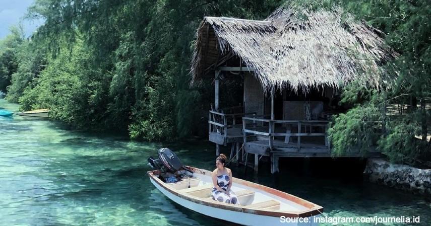 Pulau Macan - 10 Private Island Resort Terbaik di Indonesia Pemandangan Super Indah