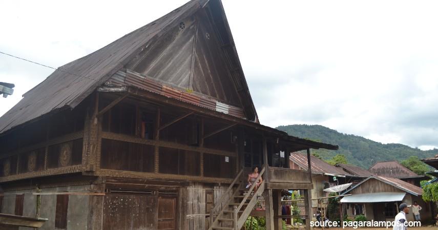 Rumah Adat Basemah - 8 Wisata Pagaralam Paling Hits