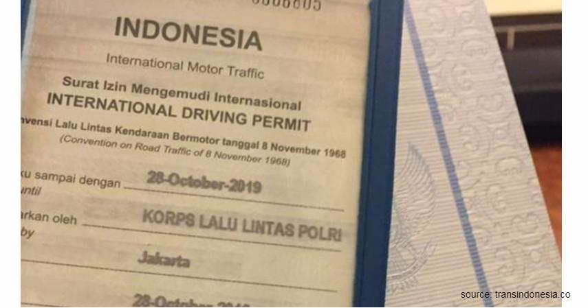 SIM Internasional - 6 Jenis SIM Beserta Biaya Pembuatannya