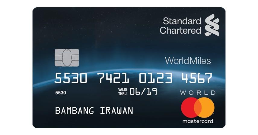 Standard Chartered WorldMiles - 7 Daftar Kartu Kredit untuk Liburan ke Luar Negeri