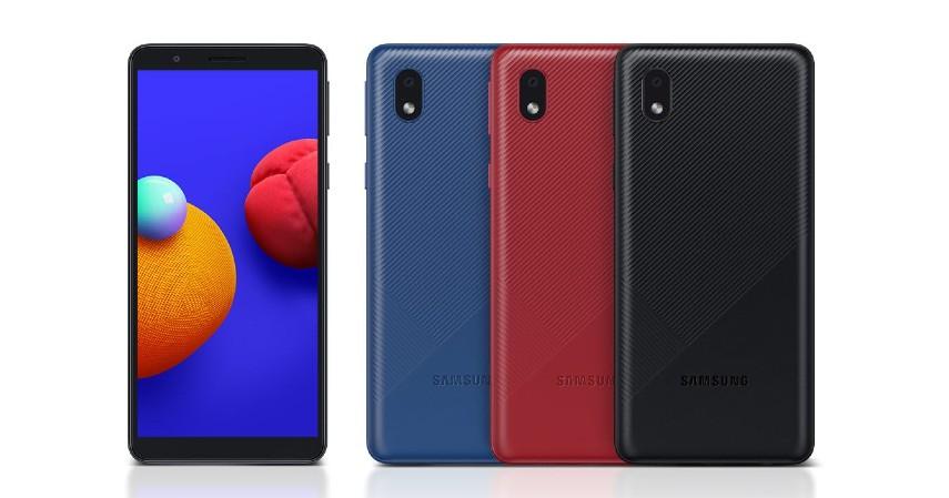 Samsung A01 Core 2 - 8 Handphone yang Cocok untuk Ibu Rumah Tangga