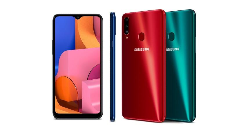 Samsung A20s - 8 Handphone yang Cocok untuk Ibu Rumah Tangga