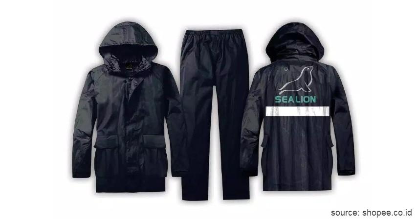 Sea Lion B01 - 8 Merk Jas Hujan Terbaik Anti Sobek dan Anti Rembes