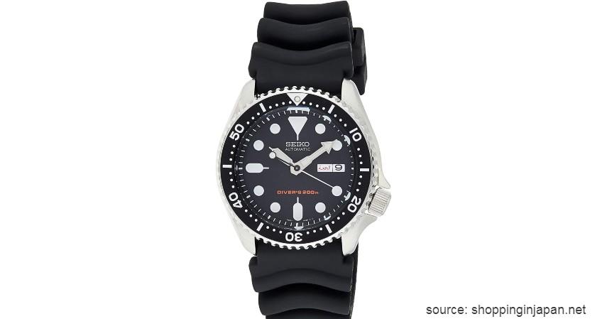 Seiko SKX 007 - Rekomendasi Jam Anti Air Terbaik untuk Pria