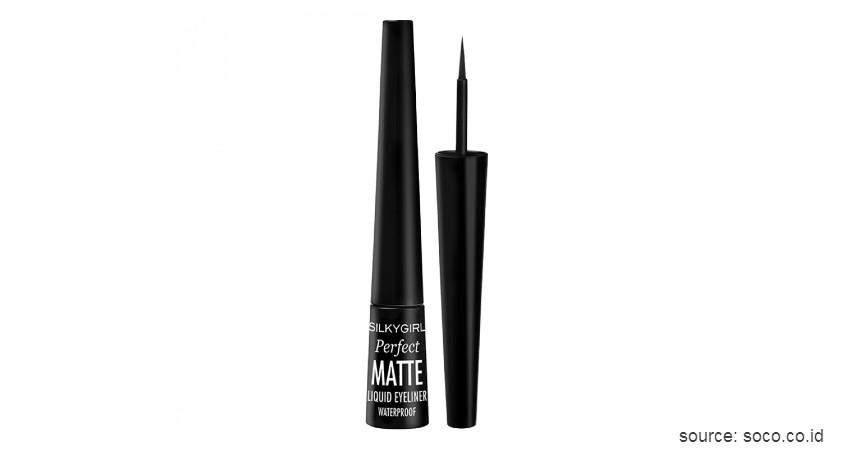 Silkygirl Perfect Matte Liquid Eyeliner - Merk Eyeliner Waterproof Terbaik Harga Terjangkau
