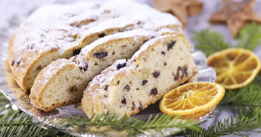 Stollen Cake – Jerman - 10 Kue Khas Natal di Berbagai Negara