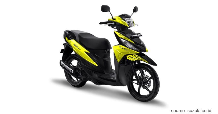 Suzuki Address Playful - Daftar dan Harga Motor Matic Terbaru