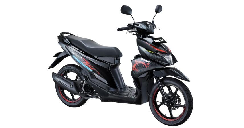 Suzuki Nex II 2018 2019 - Motor Matic Bekas Tahun Muda Harga di Bawah 10 Juta