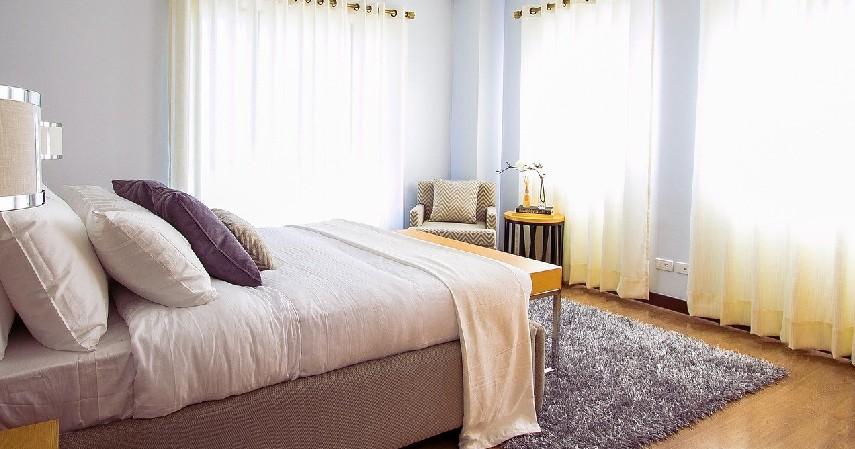 Terlihat Lebih bagus - 7 Alasan Sprei Hotel Selalu Berwarna Putih