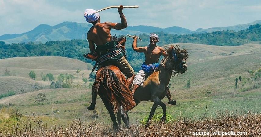 Tradisi Paling Ekstrim di Indonesia - Tradisi Pasola Sumba Barat