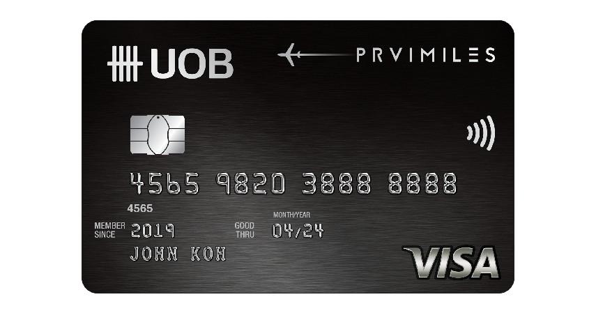UOB PRVI Miles - 7 Daftar Kartu Kredit untuk Liburan ke Luar Negeri