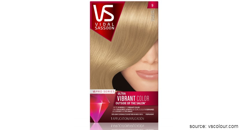 Vidal Sassoon Salonist Hair Color - 9 Merk Cat Rambut yang Bagus dengan Harga Terjangkau