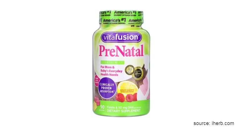 Vitafusion Prenatal - Vitamin Ibu Hamil Terbaik