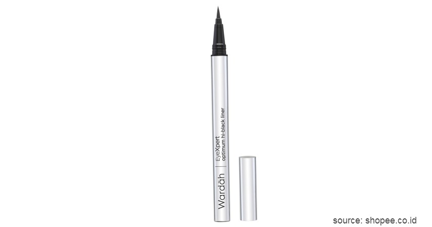 Wardah EyeXpert Optimum Hi-Black Liner - Merk Eyeliner Waterproof Terbaik Harga Terjangkau