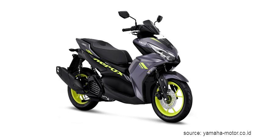 Yamaha Aerox 155 - Daftar dan Harga Motor Matic Terbaru