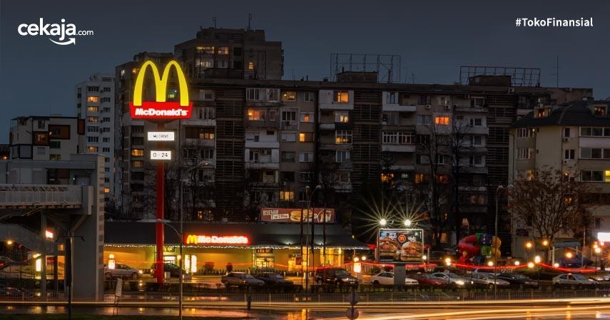 Restoran McDonald's Termewah di Dunia dengan Desain Unik