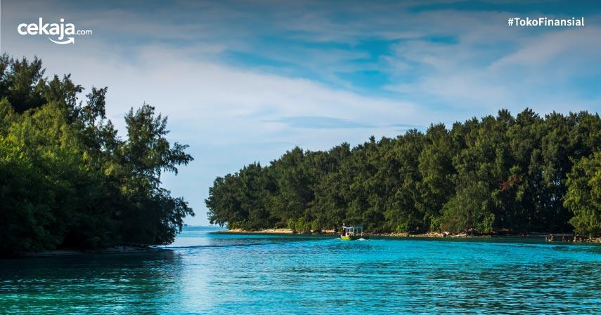 Mengenal Pesona Pulau Laki, Tempat yang Disebut Jatuhnya Sriwijaya Air