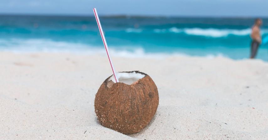 Air kelapa - 10 Cara Menghilangkan Bekas Cacar