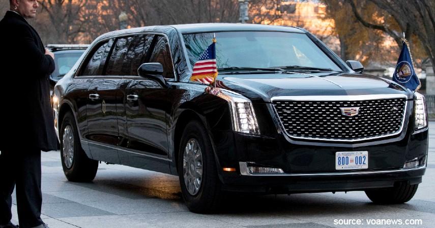 Apa Beda Mobil Kepresidenan RI dengan Mobil Milik Presiden AS