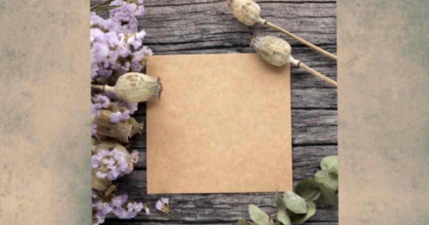 Bunga Kering di Kartu Ucapan - 5 Peluang Bisnis Buket Bunga Kering