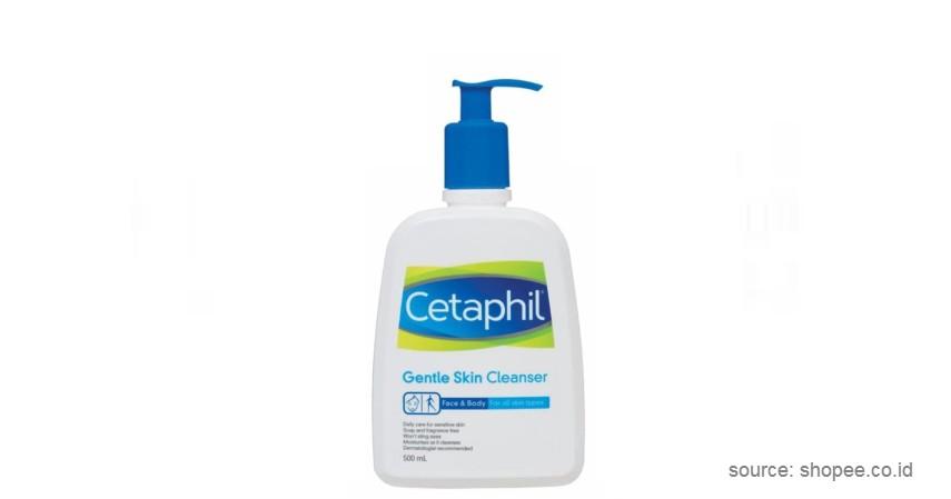 Cetaphil – Gentle Skin Cleanser - Sabun Muka Terbaik Untuk Kulit Jerawat hingga Sensitif