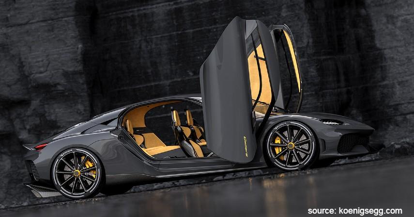Dihedral Doors - Jenis Bukaan Pintu Mobil yang Keren dan Ikonik