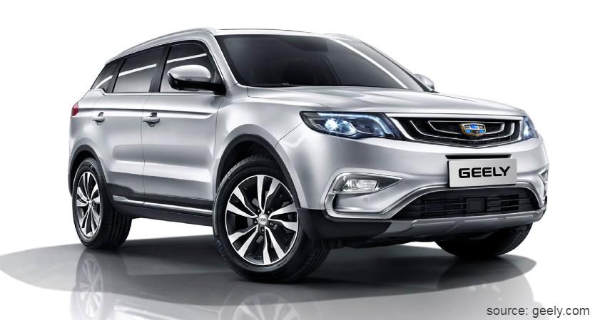 Geely X7 Sport - Daftar Mobil SUV Murah Asal China Rp200 Jutaan