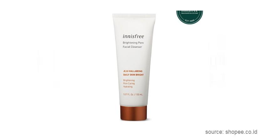 Innisfree – Brightening Pore Facial Cleanser - Sabun Muka Terbaik Untuk Kulit Jerawat hingga Sensitif