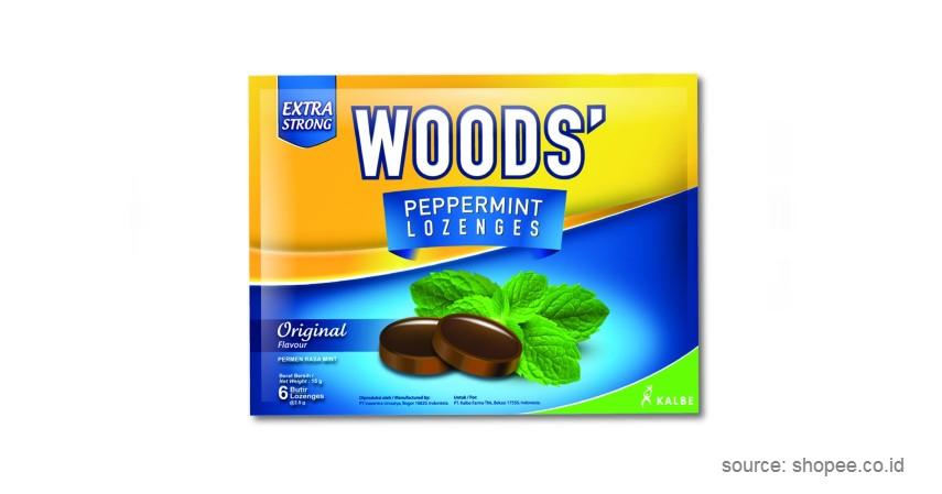 Kalbe Wood's Peppermint Lozenges - 9 Permen Pelega Tenggorokan Terbaik