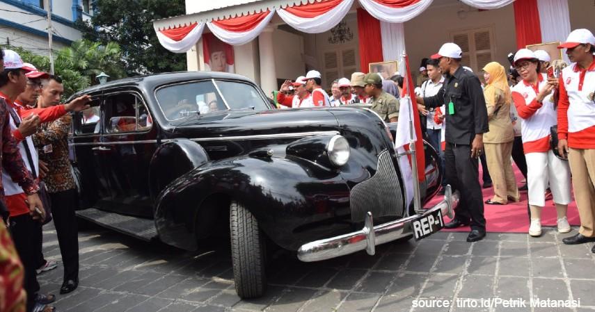 Kecanggihan Mobil Kepresidenan RI Selalu Mengalami Perubahan