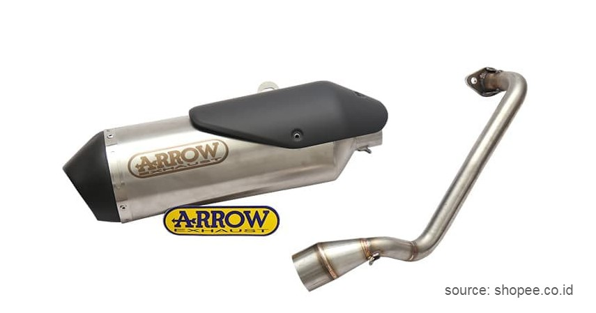 Knalpot Arrow - Pilihan Merk Knalpot Racing Motor Terbaik
