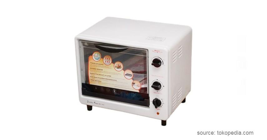 Maspion MOT 600 - Merk Oven Listrik Terbaik Low Watt