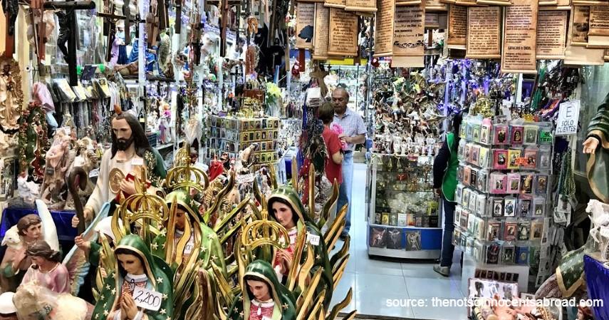 Mercado de Sonora – Meksiko - 9 Pasar Teraneh di Dunia