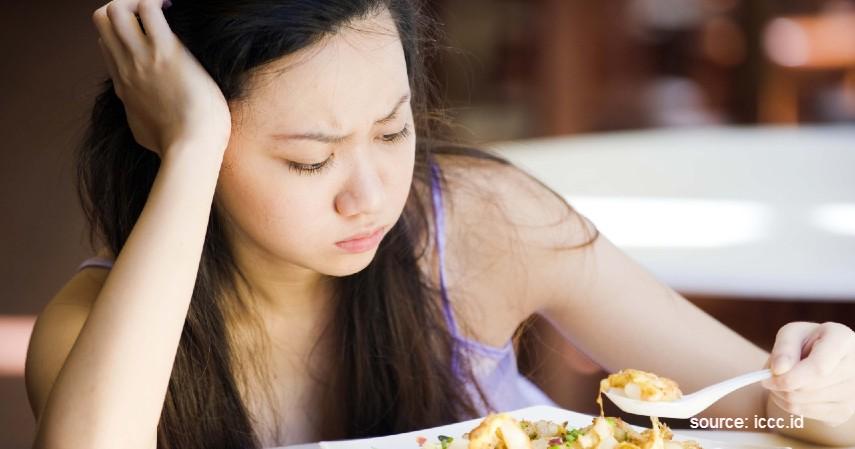 Nafsu makan menurun - Tanda Anak Kurang Gizi dan Penanganannya