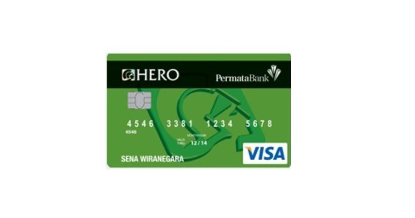 Permata Hero Card Visa Classic - 5 Kartu Kredit untuk Gaji Rp3 Juta